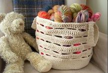 Crochet: For the Home / Crochet projects and tutorials for home decor and accessories / by The Barn Owls Nest