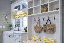 Beautiful Mudroom/Laundry