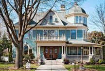 Beautiful Ornate Homes / Queen Anne, Italianate, Second Empire, Gothic Revival, etc.