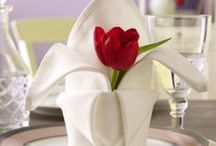 Towel & Napkin Folding / by Deb Snell