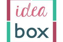 Idea Box Link Party / Party features and hostess picks from the Idea Box Link Party! Every Thursday at 6am ET.     Link Party hosted by:   Mila @ www.milaslittlethings.com  ||  Carole @ www.creativeclementine.com  ||  Christy @ www.christyscookingcreations.com  ||  Danielle @ sundaesandspahetti.blogspot.com  ||  Cyndee @ www.christmanscreations.com