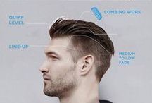 Men's Hairstyle / Style your hair like a pro - it's easier than you thought!
