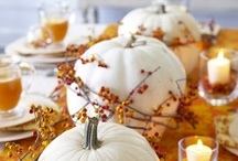 Autumn Decor Ideas / by Hope G.
