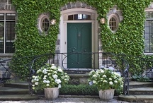 Exterior Colors | Green / by Kate | Sensational Color