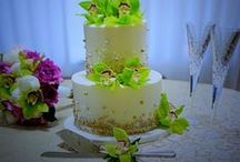 Pretty Wedding Cakes / by We Take The Cake