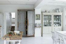 INTERIOR * MODERN FARMHOUSE / interiors inspired by contemporary country...#contemporary #country #chic #interior