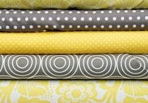 Cheerful Gray & Yellow / we love the combo grey & yellow...use it in fashion, interiors or weddings...