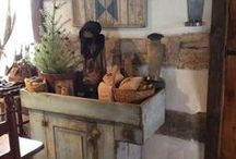 Primitive Decor / by ~Homespun Heart Primitives~
