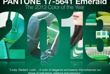 Pantone Color of the Year 2013 Emerald / by Kate | Sensational Color