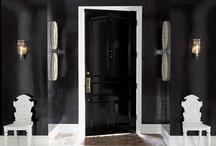 Interior Color | Black / by Kate | Sensational Color