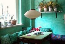 Bohemian Style / Artsy, eclectic & bright!