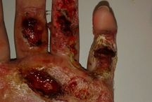 Special Effects Makeup / Great for Halloween or casually scaring people any day  / by Vittoria LaRosa