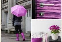 Designers Favorites | Pantone Radiant Orchid Color of the Year 2014 / #coty #coloroftheyear #pantone #radiantorchid
