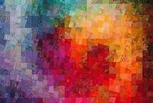 quilt&applique-geometrical