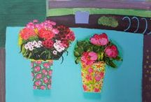 paintings-still life,floral