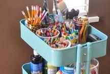 Kiddo Organization / Keep all of that kiddo stuff organized in style!