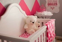Amazing Nurseries / All of the coolest, cutest, sweetest nurseries for boys and girls! / by Jelly Bean Quilts