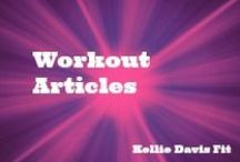 Workout Articles / Learn more about exercise, nutrition, sleep, and all things health with these great articles!