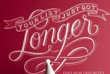 Chalk Lettering / by Ade Chong