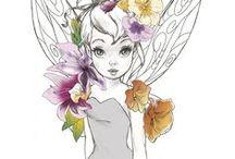 Disney/Fairy Tale Art