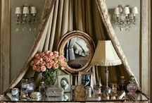 dressing rooms - closets - vanities / ***a place for everything and everything in its place*** / by BrendaGay