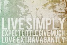 Keep It Simple / by Amy Key Prater