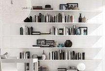 bookshelves & decor