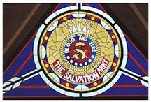 Salvos - Stained Glass / Windows with a message