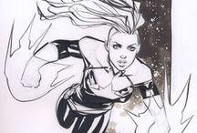 Ms. Marvel / Ms. Captain Marvel