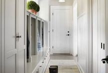 Mudroom / Not only a place to dump your shoes, coats, and bags. This room welcomes you home.