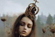 head gear. / crowns. hats.
