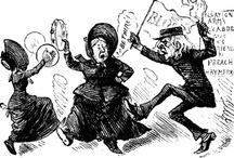 Salvos - cartoons/caricatures / a bit of fun & history