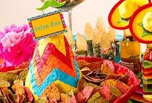 ADULT MEXICAN B-DAY PARTY / The celebration of my sister's 27th bday! FIESTA! / by Anneliesse Rek