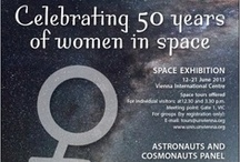 50 years women in space - Valentina Tereshkova / On 16 June 2013 we will celebrate the 50th anniversary of the first woman in space, Valentina Tereshkova. Ever since, female astronauts have shown there is no difference between men and women in space, science and engineering.