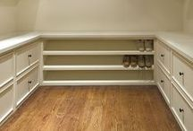 Closet / Grand closets that are highly functioning rooms.