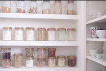 Pantry / Ideas to organize your pantry.