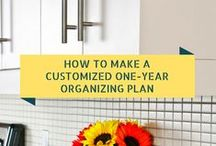 Being Organized / Everything you need to stay on track and be organized