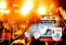 Hearing Protection / Alpine has different types of earplugs to prevent damage to your hearing, have a good night's rest, enjoy the music or a night's out, etc.