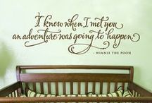 Winnie Words / Winnie the Pooh and all his friends wise quotes