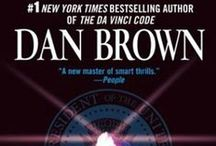 Books by Dan Brown / Dan Brown (born June 22, 1964) is an American author of thriller fiction who is best known for the 2003 bestselling novel The Da Vinci Code. Brown's novels are treasure hunts set in a 24-hour period, and feature the recurring themes of cryptography, keys, symbols, codes, and conspiracy theories.