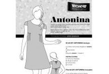 Kit DIY to sew Antonina / by WESEW The satisfaction of doing it