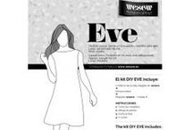 Kit DIY to sew Eve / by WESEW The satisfaction of doing it