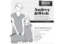 Kit DIY to sew Audrey and wish / by WESEW The satisfaction of doing it