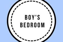 Boys Bedroom / Boys bedroom decor and ideas