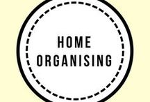 Home Organising / Lots of ideas for organising every room in your home