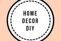 Home decor DIY / Do it youself home decor projects
