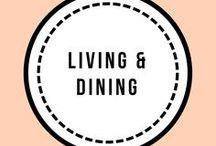 Living/dining room / Living/dining room inspiration