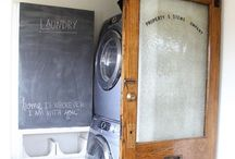 HoMe...it all comes out in the WASH / laundry room makeover ideas