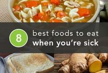 Sick Day Recipes / Not feeling well? Quick and nutritious, or deliciously comforting, cook up some of these recipes to help you get well faster.