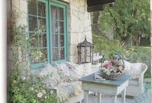 Garden Inspiration / Beautiful and inspiring ideas for decorating the garden and outside/ outdoor spaces